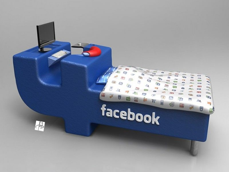 cama do facebook