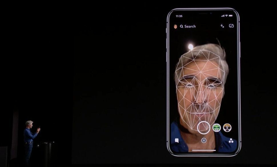 ID da cara iPhone X
